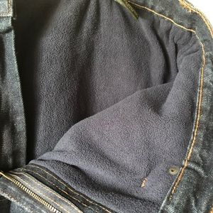 Mens FLEECE Lined Jeans Brand NEW. Size 40/30.